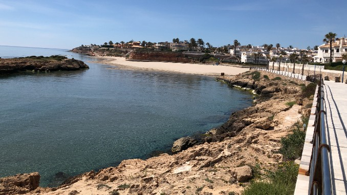 playa orihuela costa cala capitan coronavirus covid19