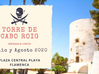 torre de cabo roig Orihuela Costa teatro playa flamenca Torrevieja