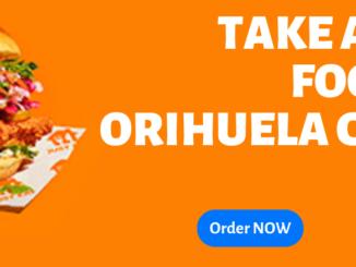 TAKE AWAY FOOD IN ORIHUELA COSTA
